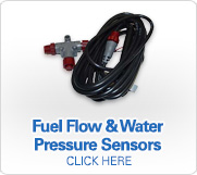 Fuel Flow & Water Preassure Sensors