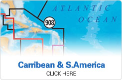 Navionics Caribbean and South America Maps