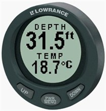 Lowrance Networking lowrance lst 3800 in dash digital depth and temp gauge