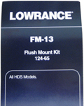 Lowrance 124-65 Lowrance Flush Mount for All