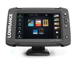 Hot Deals lowrance elite 7 ti touch combo w totalscan transom mount transducer and navionics plus chart