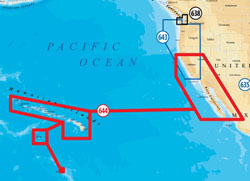 Navionics United States West Maps navionics platinum plus hawaii california south to baja
