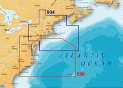 Lowrance On The Ocean Maps navionics platinum plus 905pp mid atlantic and canyons lowrance