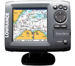 Lowrance 103001 Elite 5M Plotter with Navioincs Gold US Microsd