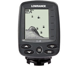 """Lowrance X-4 Fishfinder 200kHz - Transom Mount Transducer Brand New Includes One Year Warranty, Product # 000-10227-001 The Lowrance X-4 Fishfinder features a full 4"""" film SuperTwist LED display with 4-level gray scale definition for superior clarity and viewing in direct sunlight"