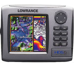 Lowrance HDS 5 LI w/oTran R Lowrance HDS 5 Lake Insight Multifunction