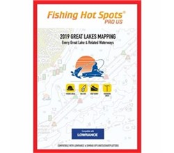 Fishing Hot Spots fishing hot spots pro gl 2019 digital map and chip E229