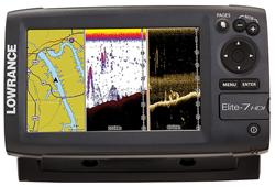 Lowrance Elite-7 HDI-R Lowrance Elite-7 HDI Fishfinder/Chartplotter Co