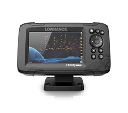 Lowrance Hot Deals lowrance hook reveal 5 with splitshot transom mount and us can nav plus charts