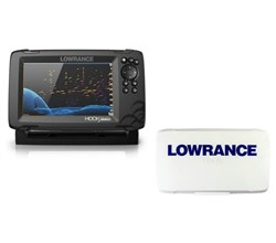 Lowrance Hot Deals lowrance hook reveal 7 tripleshot transom mount us can nav charts with sun cover 000 15524 001 plus 000 14175 001