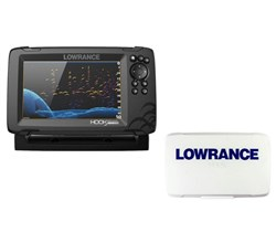 Lowrance Hot Deals lowrance hook reveal 7 splitshot transom mount us/can nav charts with sun cover 000 15523 001 plus 000 14175 001
